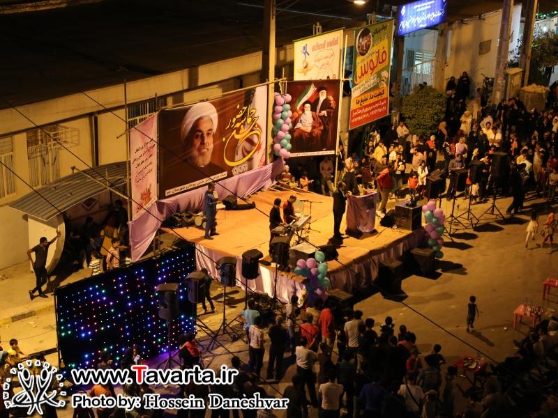جشن پیروزی طرفداران رییس جمهور منتخب در شهرستان جم برگزار شد