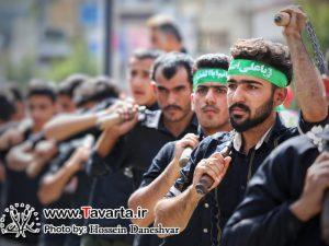 گزارش تصویری/ عزاداری شب و روز تاسوعا هیئت امام حسین (ع) شهر جم