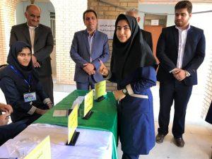 مدیر آموزش و پرورش جم:انتخابات شوراهای دانش آموزی تمرین دموکراسی برای دانش آموزان است/تصاویر