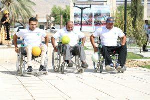 همایش روز پارالمپیک جنوب استان در جم