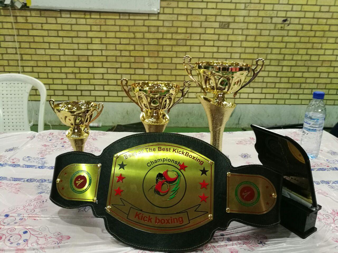 قهرماني تيم هييت كيك بوكسران شهرستان جم در مسابقات جام ولايت استان بوشهر