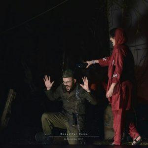 گزارش تصویری: تئاتر زیبای لعنتی کاری از انجمن هنرهای نمایشی شهرستان جم