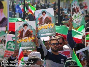گزارش تصویری/ راهپیمایی با شکوه ۲۲ بهمن در شهرستان جم