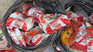 جمع آوری و معدوم نمودن ۱۱۶ کیلوگرم مواد غذایی فاسد در جم