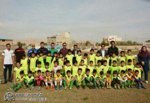 گزارش تصویری/دومین فستیوال مدارس فوتبال شهرستان جم برگزار شد