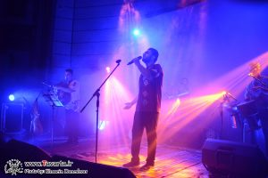 گزارش تصویری/کنسرت گروه بندری لیکو با حضور پرشور مردم برگزار شد