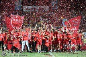 گزارش تصویری/پرسپولیس قهرمان لیگ برتر شد اهدای جام در جم