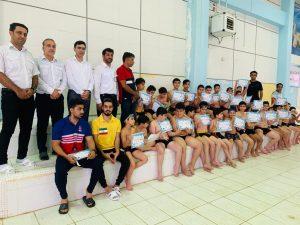 💢جشنواره شنا با حضور۸۶ شناگر در شهرستان جم برگزار شد