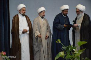 گزارش تصویری: مراسم تکریم و معارفه امام جمعه شهرستان جم