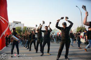 گزارش تصویری گردهمایی بزرگ عصر عاشورا میدان امام حسین شهر جم